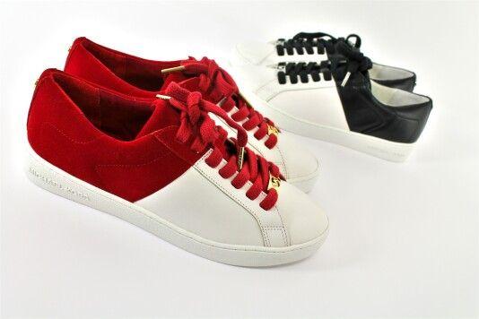 Michael Kors lancia le sue sneaker primaverili 2016, un must have per dare stile alle tue giornate! Preferisci l'accoppiata Rosso/Bianco oppure Nero/Bianco? Per info scrivici su WhatsApp ✔ +39/344 04 69 082 #michaelkors #mkcollection #sneaker #scarpa #donna #woman #sneakers #roma #belle #red #shoes #mkshoes #torino #rossa #ragazzina #scarpe #rosso #sneaker #black #milano #scarpetta #bianca #nera #stile #napoli #outfit #levoglio #venafro