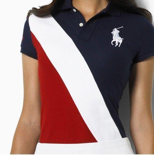 Ralph Lauren Refined Logo Green Fashion Breathable Short Sleeved