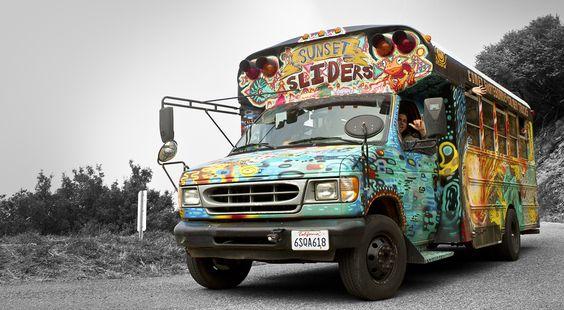 longboard bus