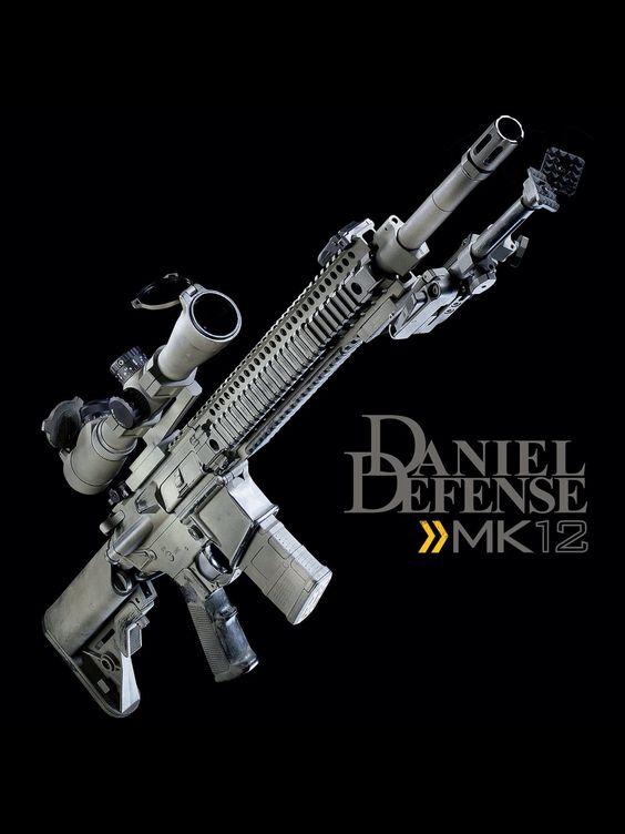 Daniel Defense MK12 - perfect! | Daniel Defense ...