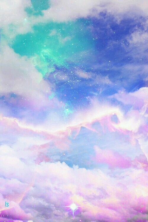 pastel wallpaper stardust colorful - photo #4
