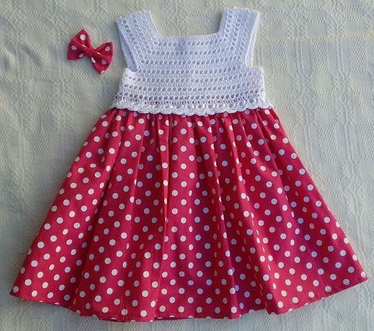 7139 Crochet Pinafore Size 9 12 Months Free Pattern Registration Required To Download Crochet Dress Girl Crochet Baby Girl Dress Crochet Baby Dress