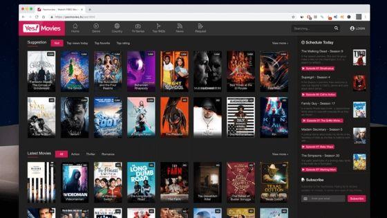 Yesmovies Free Movie Streaming Sites No Sign Up In 2020 Streaming Movies Free Free Movies Streaming Movies