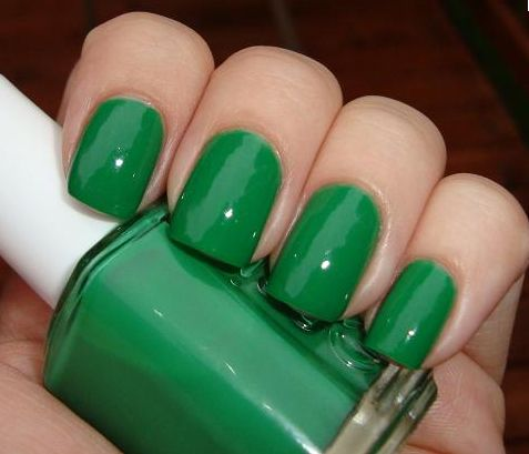 Image result for green nail polish