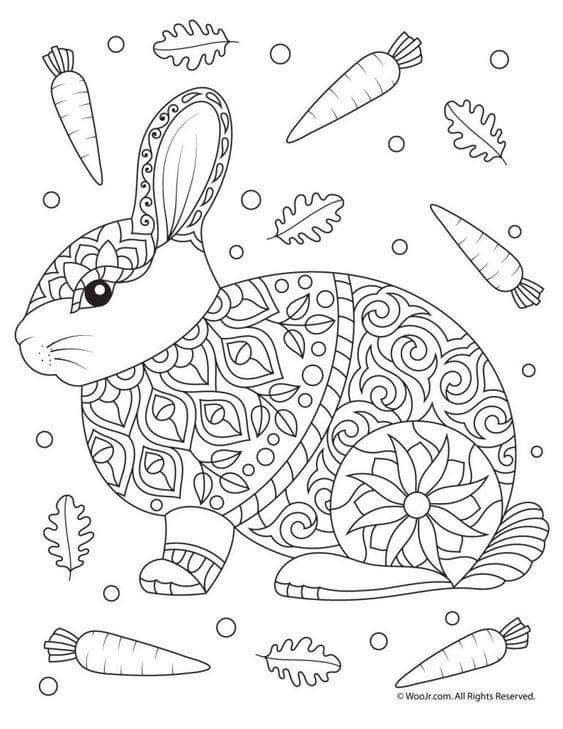 Pin By Linda Stoia On Bomboane Animal Coloring Pages Easter Coloring Pages Mandala Coloring Pages