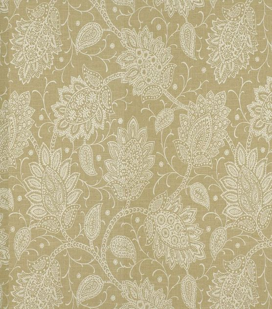 Home Decor Print Fabric-Robert Allen Sheshimmers Latte