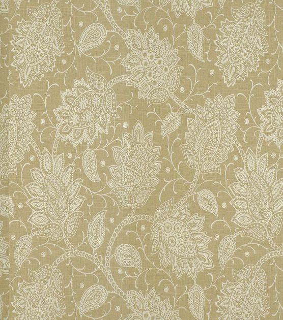 Home Decor Print Fabric-Robert Allen Sheshimmers Latte