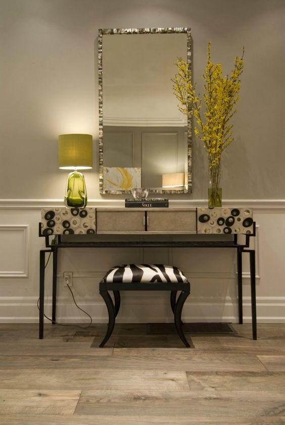 Foyer Table Vignettes : Entryway vignette hgtv s income property design shows