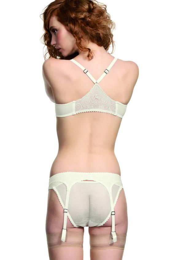 the mauritshuis suspender - marlies dekkers lingerie