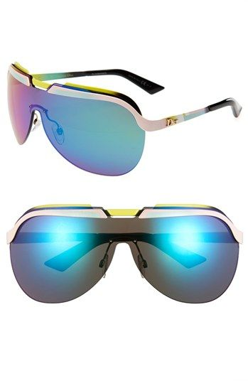 #Christian Dior           #Eyewear                  #Christian #Dior #'Solar' #Shield #Sunglasses #Yellow/ #Pink/ #Turquoise #Size                          Christian Dior 'Solar' Shield Sunglasses Yellow/ Pink/ Turquoise One Size                               http://www.snaproduct.com/product.aspx?PID=5088286