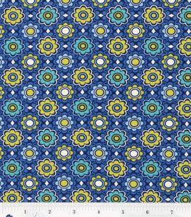 Keepsake Calico Fabric- Capri Small Floral Spot