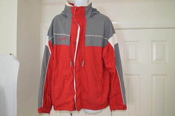 Men's Columbia Sportswear Cool Mesh Hooded Jacket L #Columbia #ZipMeshJacket