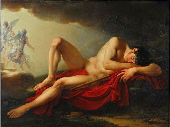 Beauté, Séduction, Sensualité, Passion — Jacques Réattu (1760-1833) : La Vision de Jacob