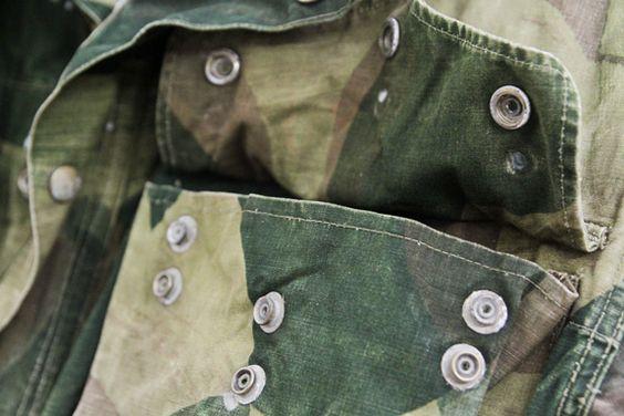 Camo. #wearandtear #vintage #military
