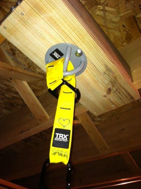 Image Result For Trx Suspension Mount In Basement Trx At Home Gym Trx Suspension