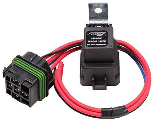 Fastronix 50 30 Amp Weatherproof Automotive Relay And Socket Kit