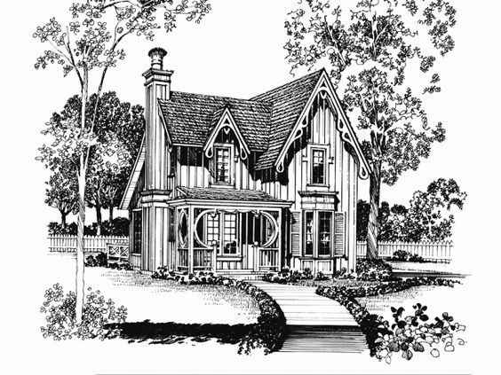 Cottages And Gothic On Pinterest