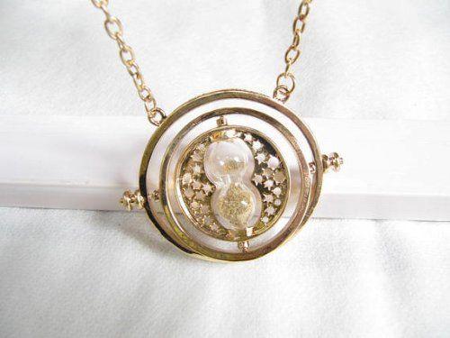 Harry Potter inspiré réplique collier Hermione tournantes retourneur de temps collier Granger Props de TIT: Amazon.fr: Bijoux