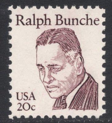 Resultado de imagem para SELO DE Ralph  Bunche