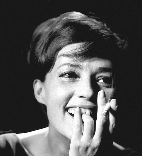Jeanne Moreau fotografiada por Georges Dambier, 1963: