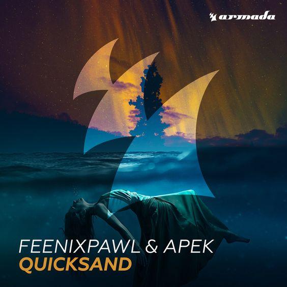 Feenixpawl, APEK – Quicksand (single cover art)