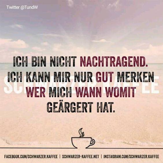 GAR NICHT NACHTRAGEND - SCHWARZER-KAFFEE