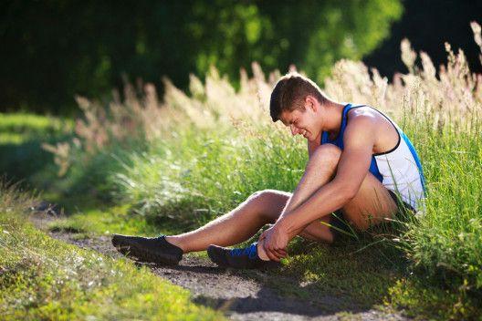 In der Laufsaison Verletzungen am Sprunggelenk vermeiden › beautytipps.ch