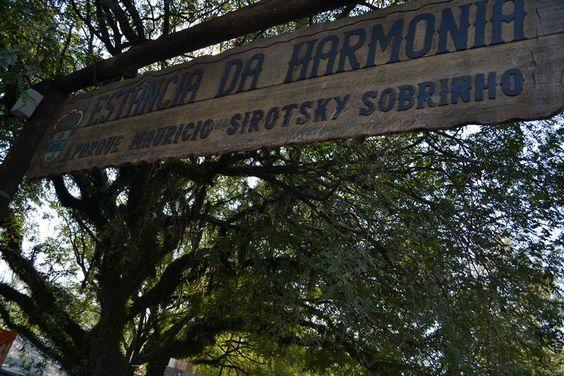 Visita ao Acampamento Farroupilha no início da tarde de sábado(23).