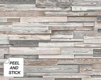 Old Salem Vintage Wood Peel Stick Wallpaper Etsy In 2021 Peel And Stick Wallpaper Wood Pattern Wallpaper Brick Wallpaper