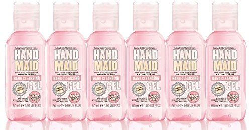 Soap Glory Hand Maid Antibacterial Hand Cleansing Gel 50ml Pack Of