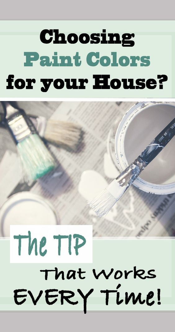 This tip will help you get the right paint color for your room or house the first time!