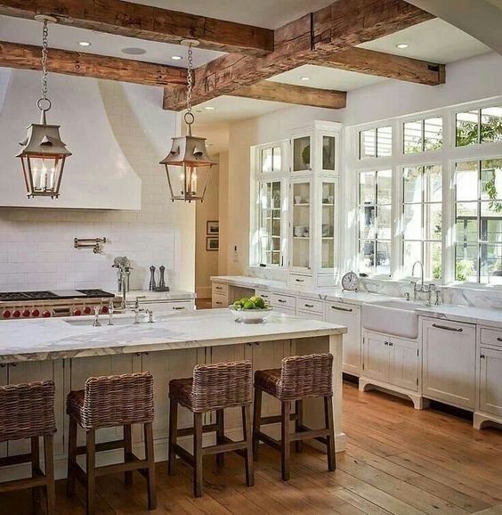 The beautiful Natural rustic kitchen