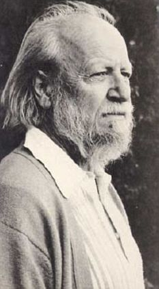 British author and Nobel laureate, Sir William Golding. Golding is perhaps best remembered for his 1954 book, Lord of the Flies.