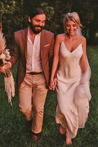 Stylish Groom Attire For Bohemian Wedding ★  groom attire brown jacket casual rustic joeywillis⠀