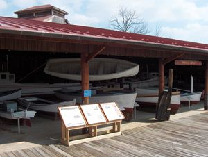 the #smallcraft collection at #calvertmarinemuseum #southernmaryland #boats #exhibits
