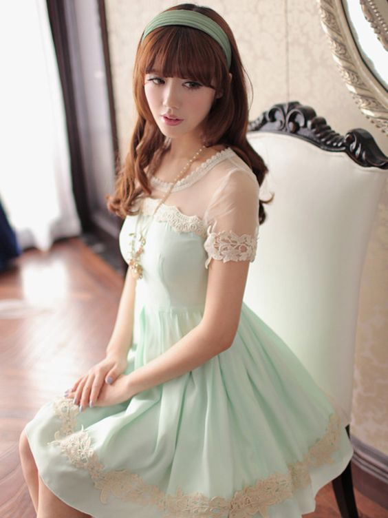mint tea with lemon dress
