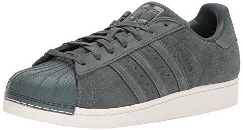 Adidas Men's Superstar Originals Green Casual Shoe 8.5 Mens ...