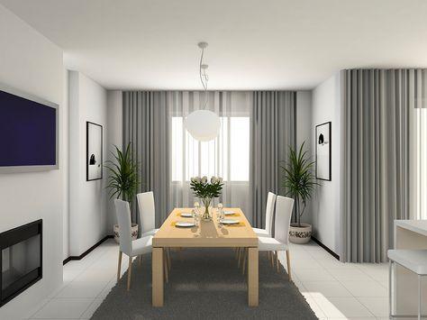 Per il soggiorno sceglierei sicuramente una tenda morbida. Tende Soggiorno Moderne Grigio Perla Curtains Living Room Modern Contemporary Curtains Curtains Living Room