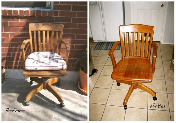 Got an old office chair for free today... let the transformation begin