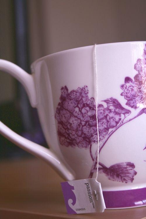 Passion in a Cup #passion #tea #tazo #tazotea #tazopassion #purple #