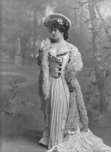 Lillie Langtry, the lady in the Judge Roy Bean movie starring Gary Cooper and Walter Brennan, Brennan was obsessed w/her!: