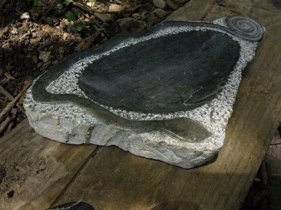 """Bol """"serpent"""" par Bulles de Granite"""