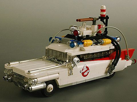 Lego Ecto 1 from Ghostbusters