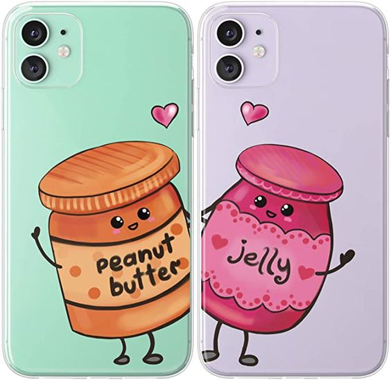 Stars iPhone case Heart Couple iPhone XR Xs Max 8 7 6 Plus Cute Girl case for Samsung Galaxy s9 Pixel 3 Space Kawaii Illustration Love Kid