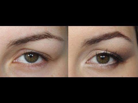 ▶ Maquillage pour paupières tombantes - YouTube