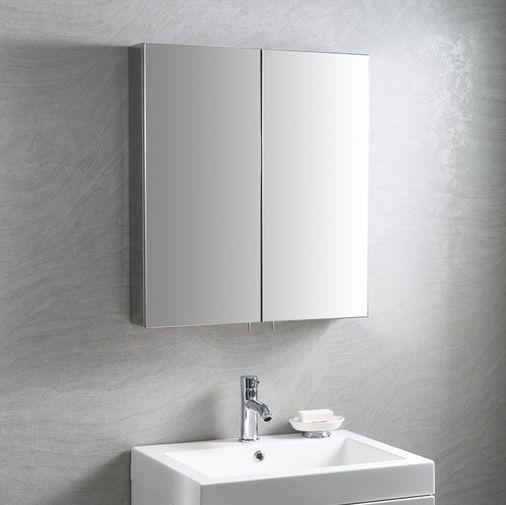 19+ Grey bathroom wall cabinet best