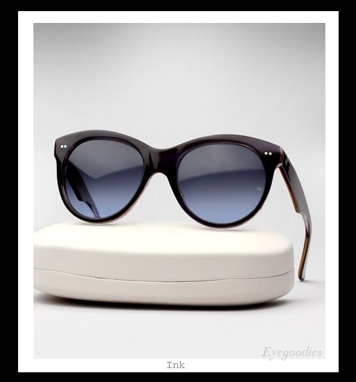 Oliver Goldsmith Manhattan sunglasses - Ink