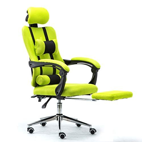 Gaming Chair Breathable Racing Office Reclining Chair With Footrest Seat Swivel High Back Recliner Computer Desk Chair Color Chair Leisure Chair Boss Chair
