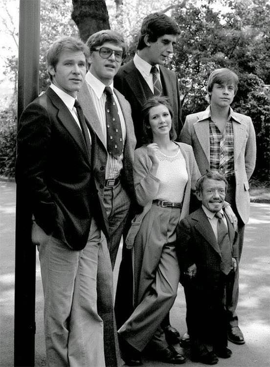 L-->R Han Solo, Darth Vader, Chewbacca, Princess Leia, Luke Skywalker, R2-D2    https://www.pinterest.com/0bvuc9ca1gm03at/
