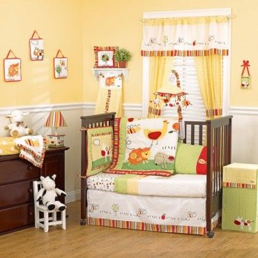 THIS IS THE BEDDING I WANT!!! ITS ON MY BABY LIST LOL